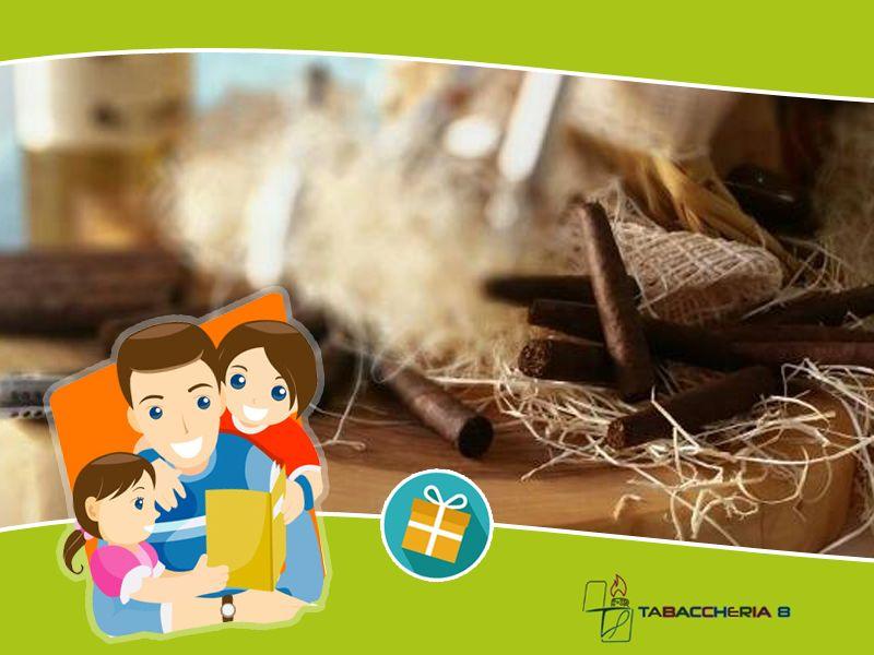 Promozione Tabaccheria - Offerta festa del papa' - Occasione gadget - Tabaccheria N° 8