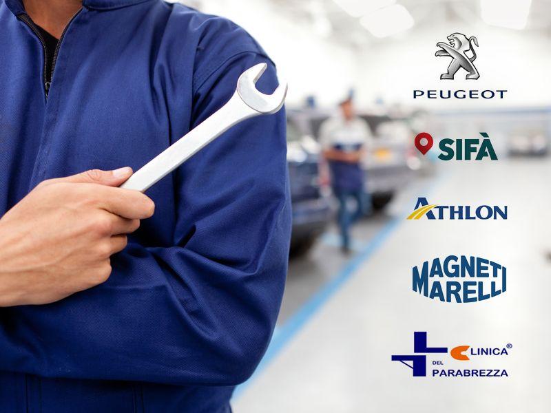 Offerta Autocarrozzeria Peugeot Italia - Promozione Magneti Marelli - Carlo Brunicella