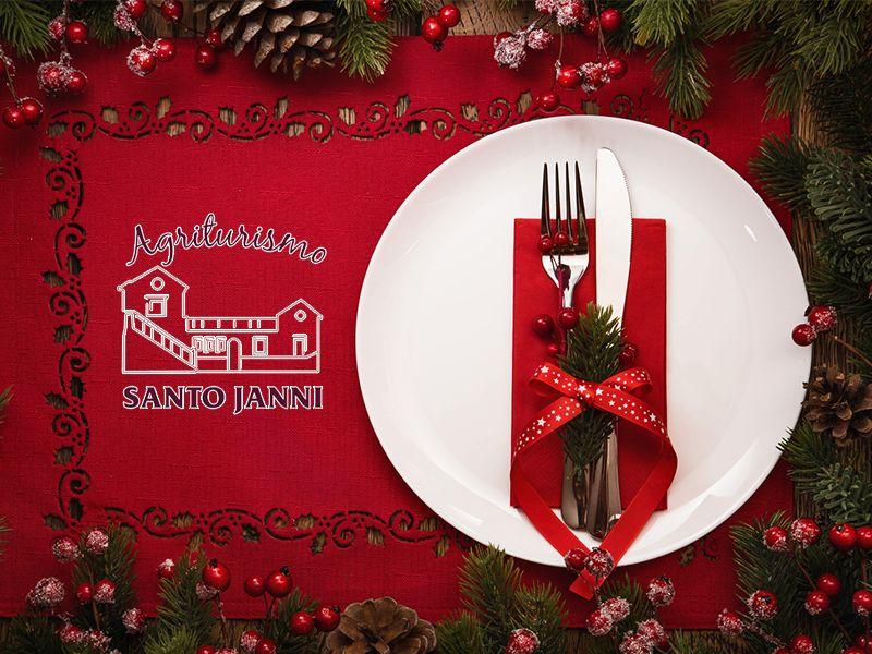Offerta Pranzo di Natale - Promozione Natale - Agriturismo Santojanni