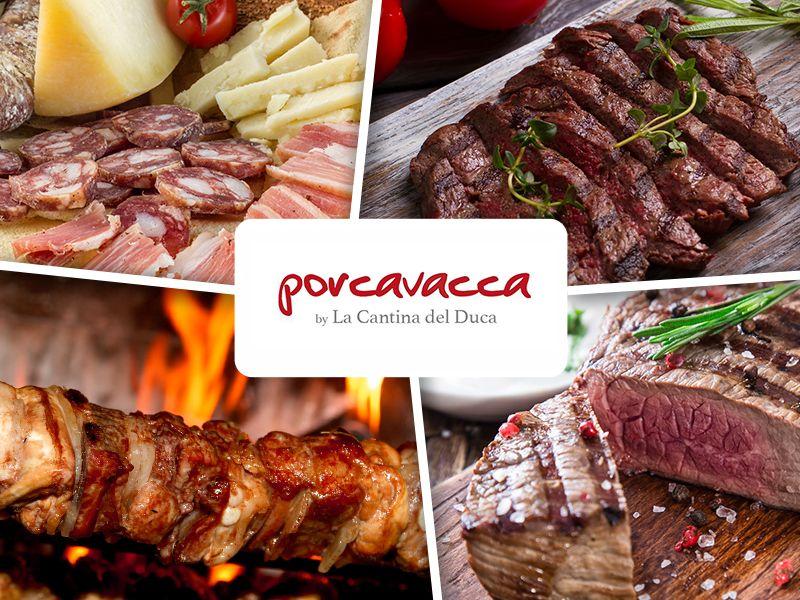 Offerta Nuovo Menu' - Promozione Menu' di Carne - Porcavacca by La Cantina del Duca