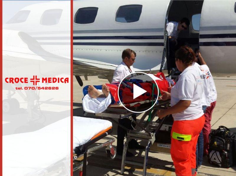 PROMOZIONE TRASPORTO CON AMBULANZA - OFFERTA TRASPORTO PER DIMISSIONI OSPEDALE - CROCE MEDICA