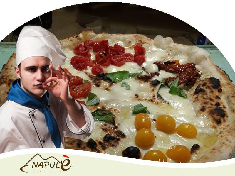nuovo menu pizze pizzeria napule