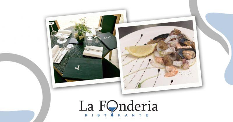 offerta menu pesce ristorante fonderia - promozione ristorante pesce fresco in centro