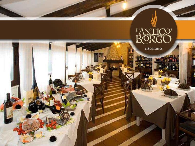 offerta cena aziendale ristorante - promozione cena aziendale menu fisso - l'antico borgo