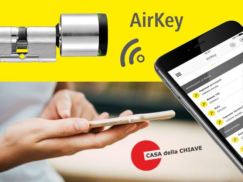 offerta serratura airkey 2.0 evva - promozione serratura cilindro ibrida airkey evva