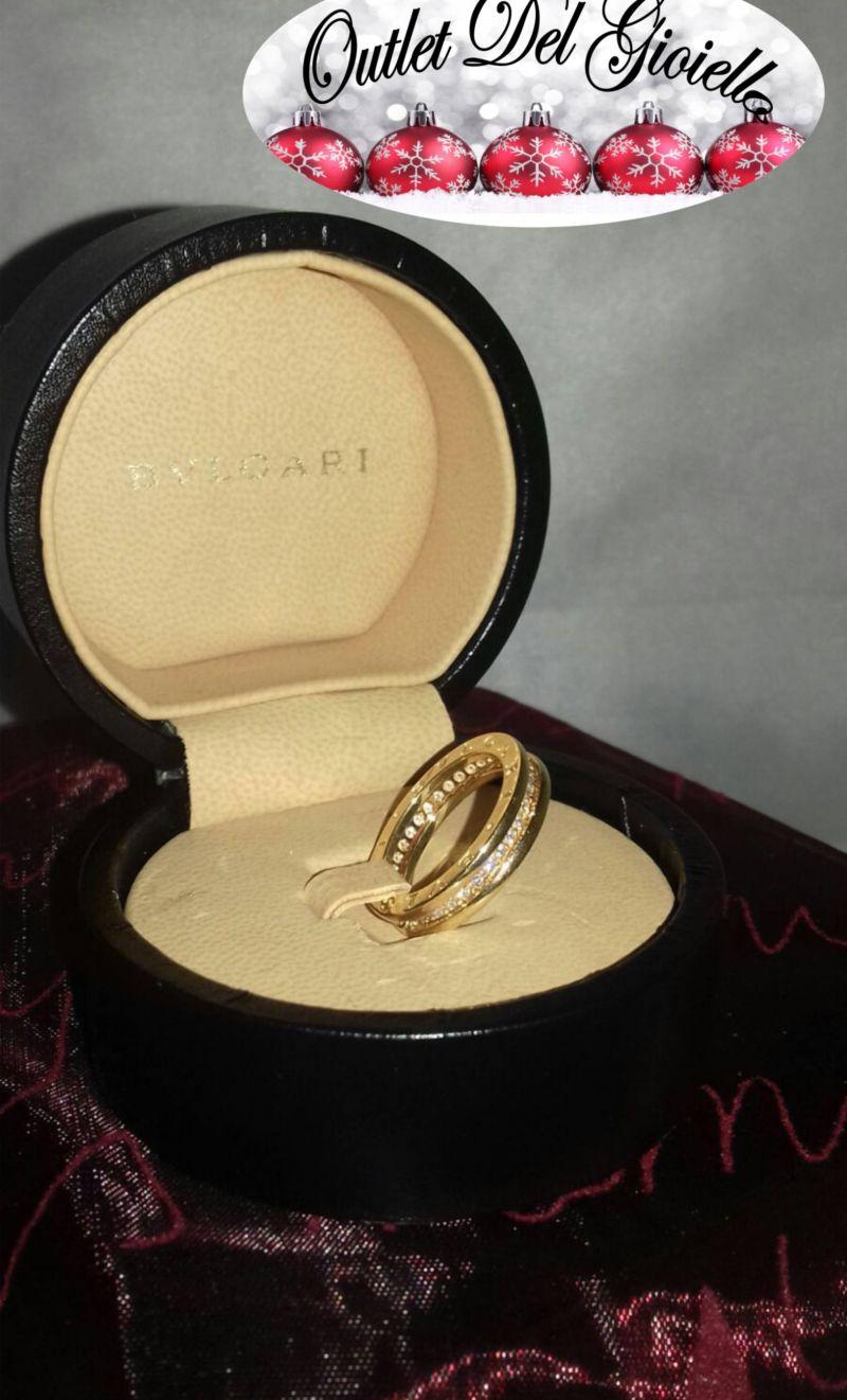 Offerta anello oro giallo bulgari b.zero Pordenone - Occasione Anello Bulgari oro PN