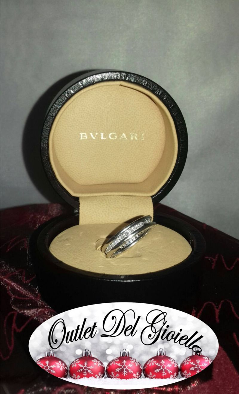 Offerta anello oro bianco bulgari b.zero Pordenone - Occasione Anello Bulgari oro PN