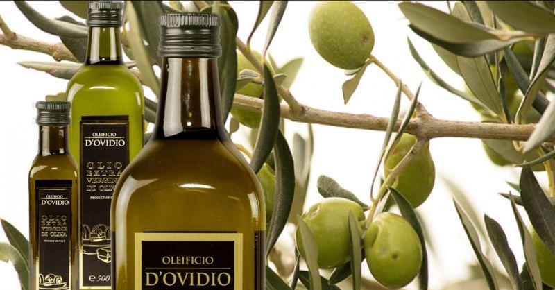 Oleificio D'Ovidio Offerta vendita olio extravergine in vetro e latta made Italy Abruzzo