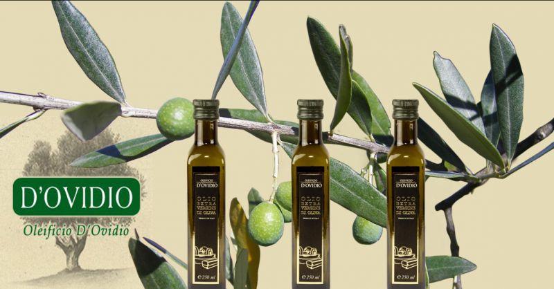 Oleificio D'Ovidio Occasione vendita olio extravergine estratto a freddo produzione Italiana