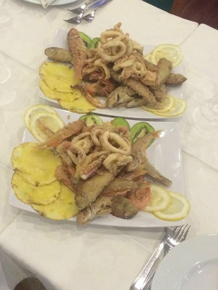 frittura e fritturina di pesce