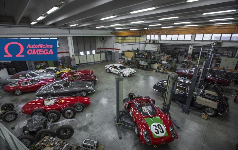 Promotion historische Autoteile -Original historisches Autoteile Angebot - Auto Reparatur Omega