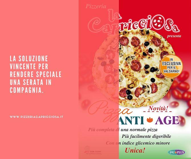 prova la pizza anti age pizzeria la capricciosa