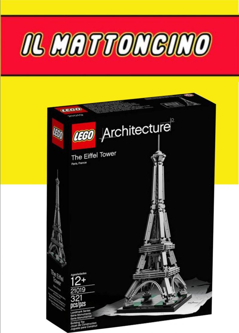 LA TORRE EIFFEL LEGO; LEGO; IL MATTONCINO MACERATA;