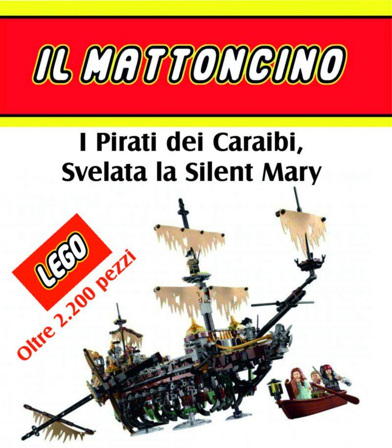 the silent mary pirati dei caraibi lego lego macerata