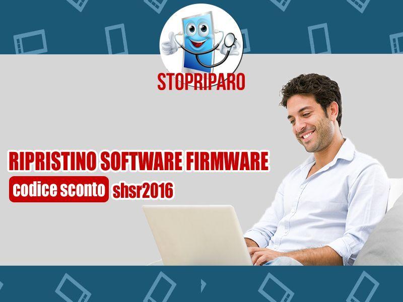 Ripristino software e firmware - STOPRIPARO.IT