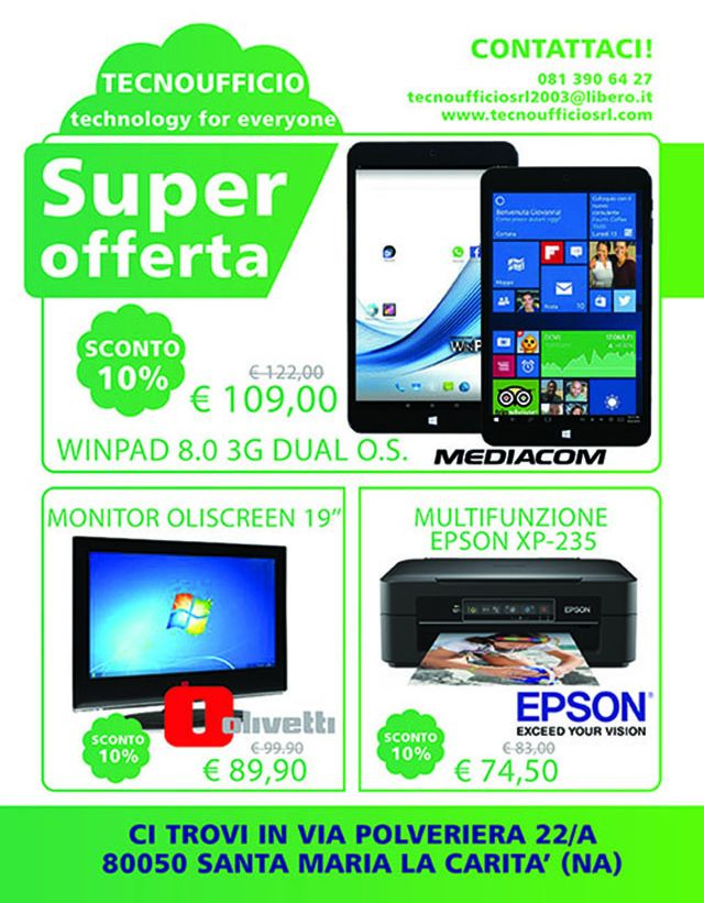 Notebook Tablet Multifunzione Monitor