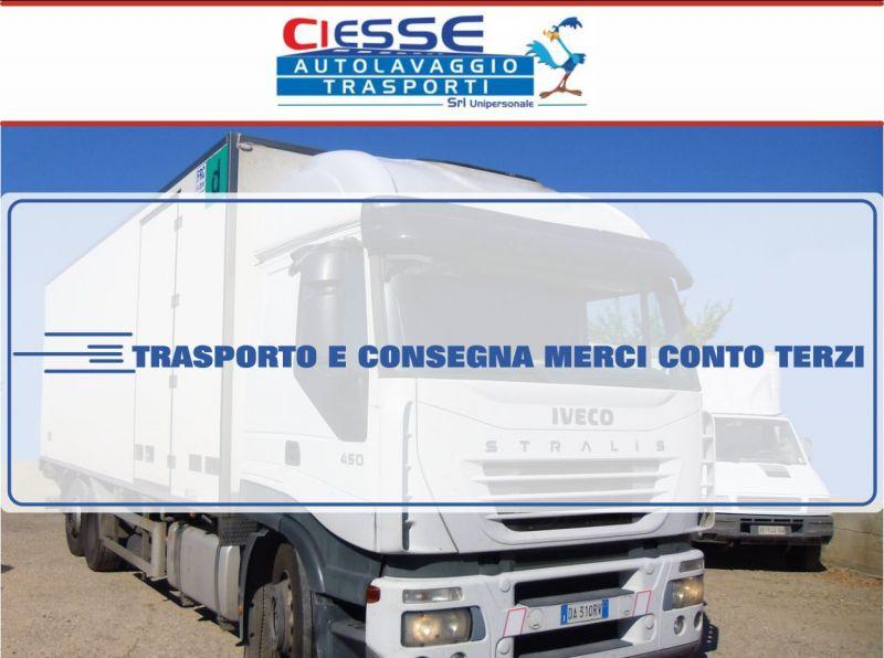 Ciesse Srl - servizio di trasporto e consegna merci conto terzi per Sardegna e Italia