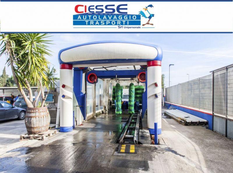Ciesse Srl - offerta servizio di autolavaggio esterno con tunnel a Oristano