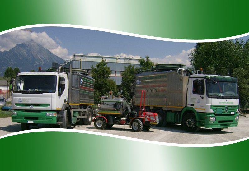 Promozione trasporto rifiuti Belluno - Offerta depurazione pozzi neri Belluno -Ecologic Service