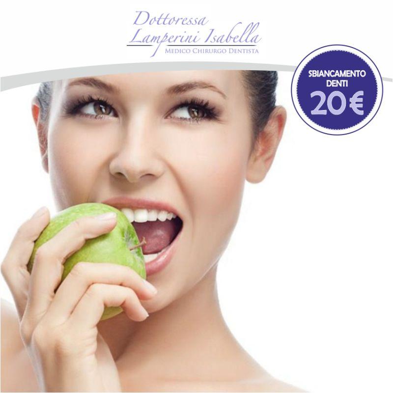 Sbiancamento Denti - Dott.ssa Lamperini Isabella