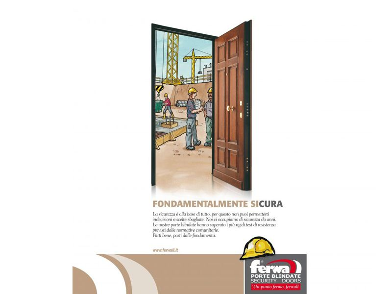 FERWALL porta BLINDO CLASSE 3 EUROPEA prezzo - Fabbri New Edil Design