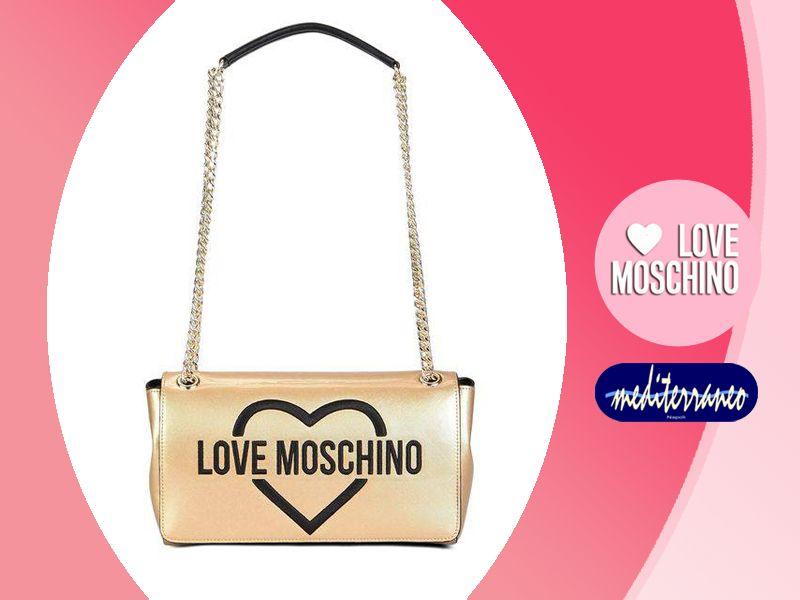 offerta borsa donna love moschino promozione collezione love moschino mediterraneo