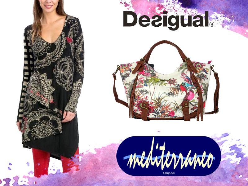 offerta abbigliamento desigual - promozione saldi desigual - abbigliamento mediterraneo