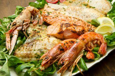 piatti di pesce ristorante pizzeria varadero