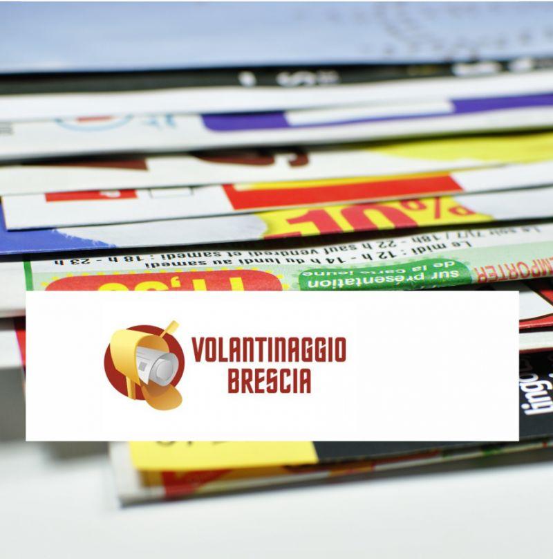 promozione servizio di volantinaggio brescia offerta distribuzione volantini brescia