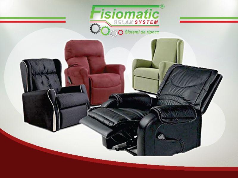 offerta poltrona reclinabile alzapersona - occasione poltrona elettrica alzapersona -fisiomatic