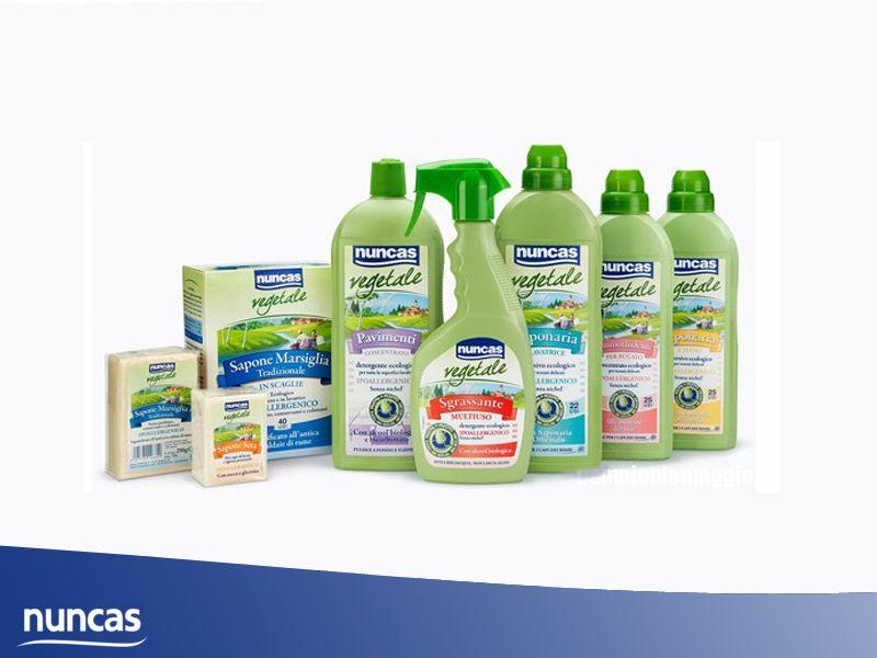 Promozione Detergenti Nuncas - Offerta linea Nuncas prodotti casa - I Detergenti