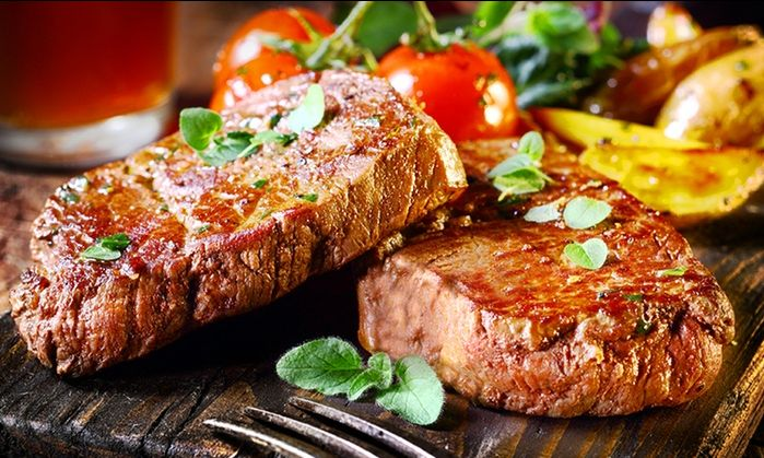 offerta grigliate di carne tavola calda - occasione ristorante menu a prezzo fisso
