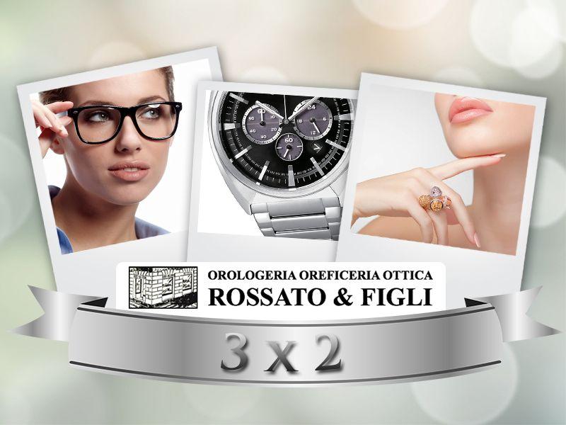 promozione offerta occasione 3x2 ottica orologeria gioielleria vicenza