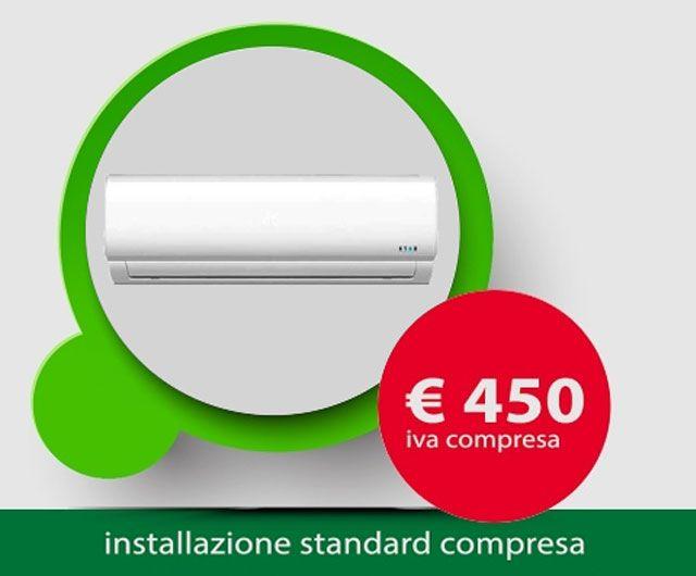 offerta installazione climatizzatore - promozione impianto condizionamento - elio sud