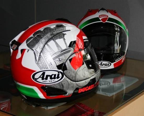 casco ducati corse arai my14 rx 7gp