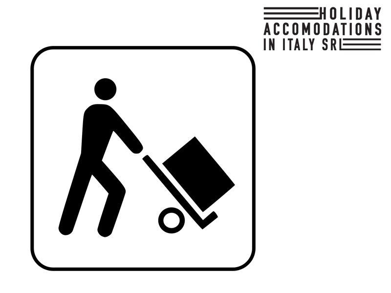servizio carico scarico holiday accomodation