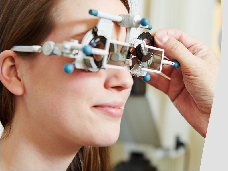 Visita Ottica Bisogno per controlli gratuiti della vista.