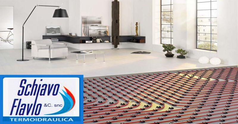 Offerta installazione riscaldamento a pavimento - Occasione sostituzione caldaie Vicenza
