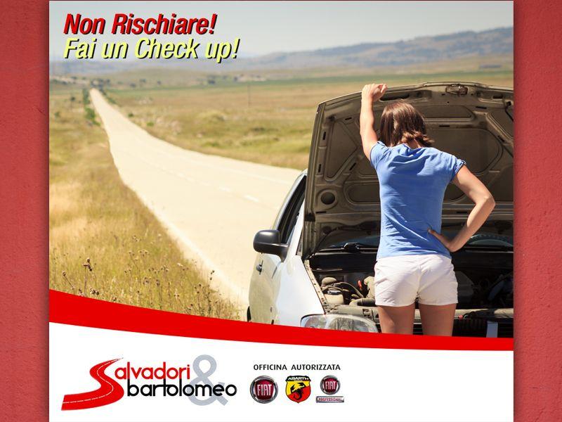 offerta check up auto - promozione tagliando revisione -  Salvadori e Bartolomeo