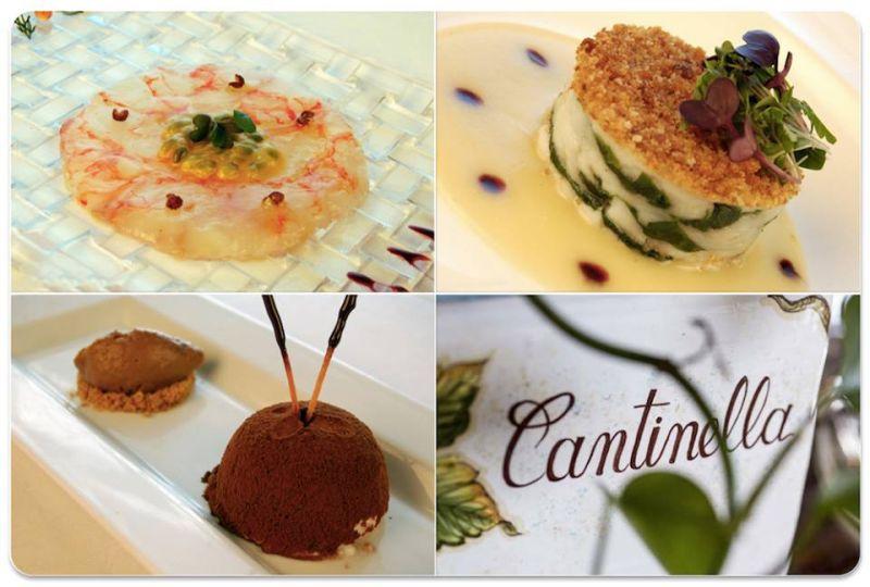 Pranzo e  cena agosto - La Cantinella