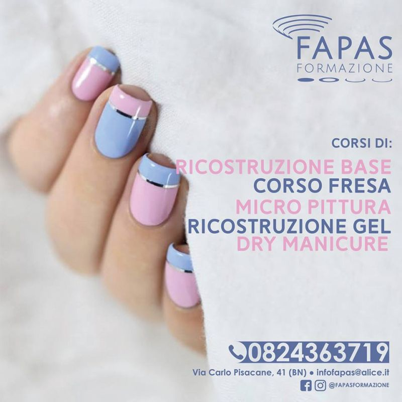 FAPAS Formazione organizza Corso di ricostruzione unghie.Corri ad iscriverti.