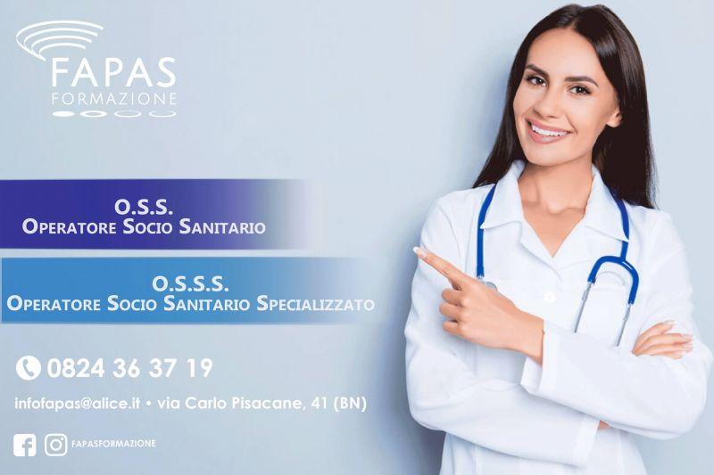 Alla Fapas Formazione sono aperte le iscrizioni come Operatore Socio Sanitario.