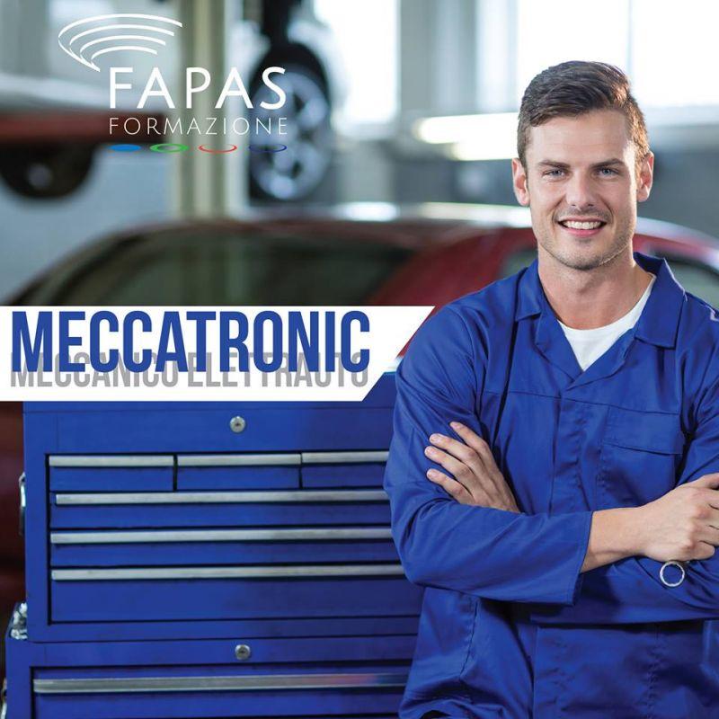 Alla Fapas Formazione sono aperte le iscrizioni al corso di Meccanotronico.