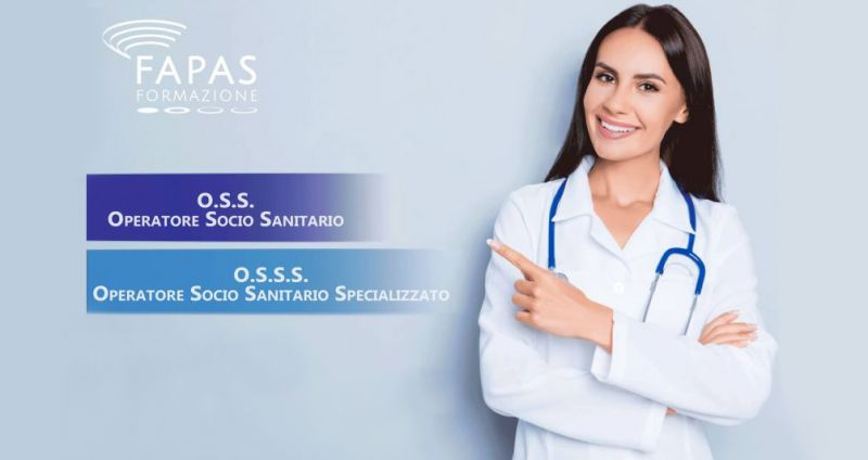 offerta corso formazione operatore socio sanitario - promozione fapas formazione