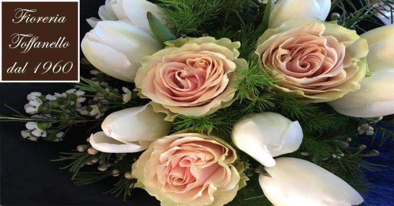 offerta confezionare mazzo di fiori freschi Vicenza - occasione confezionare fiori Vicenza