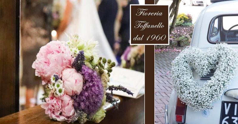 offerta composizioni floreali matrimonio Vicenza - occasione addobbi floreali chiesa Vicenza