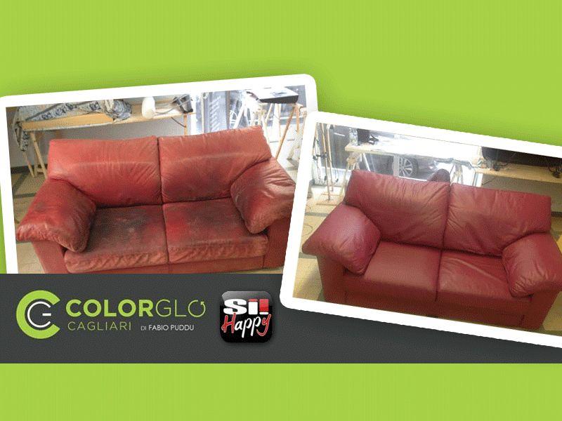 offerta riparazione divano - promozione restauro divano - colorglo cagliari