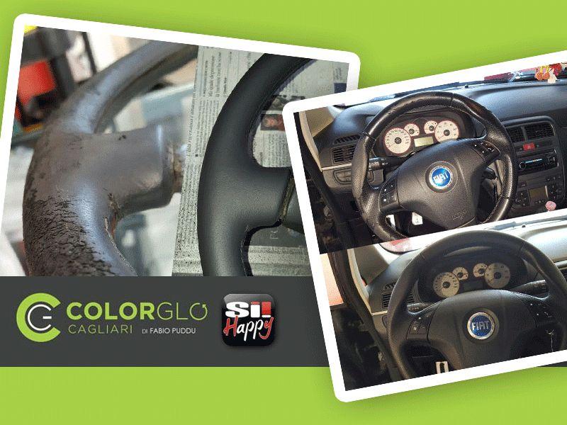 offerta ripristino volante auto - occasione restauro volante auto - colorglo cagliari