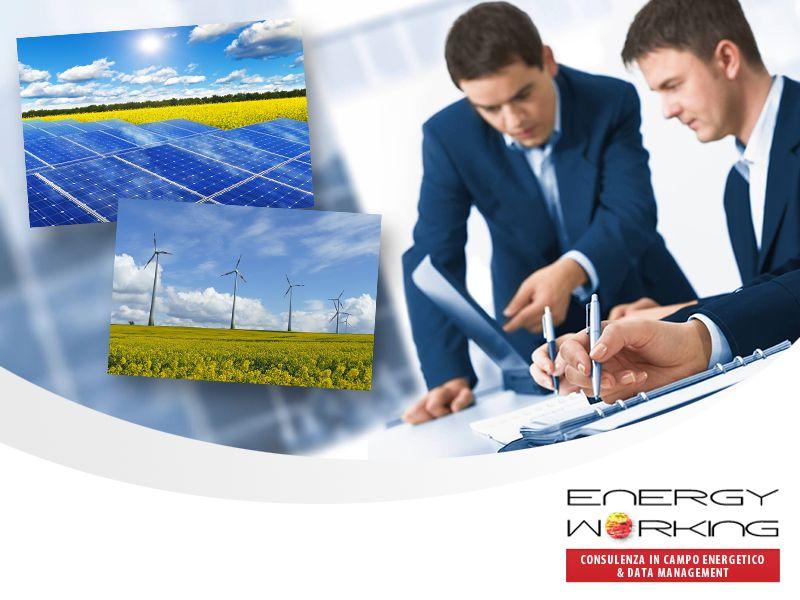 Offerta Consulenza Energetica - Promozione Servizi Consulenza Ambientale - Energy Working