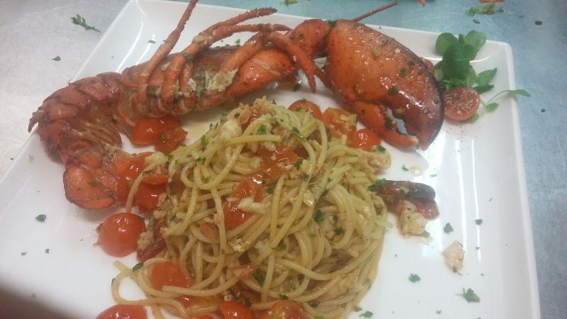 occasione cena ristorante di pesce con menu fisso a marostica rossano veneto cassola rosa